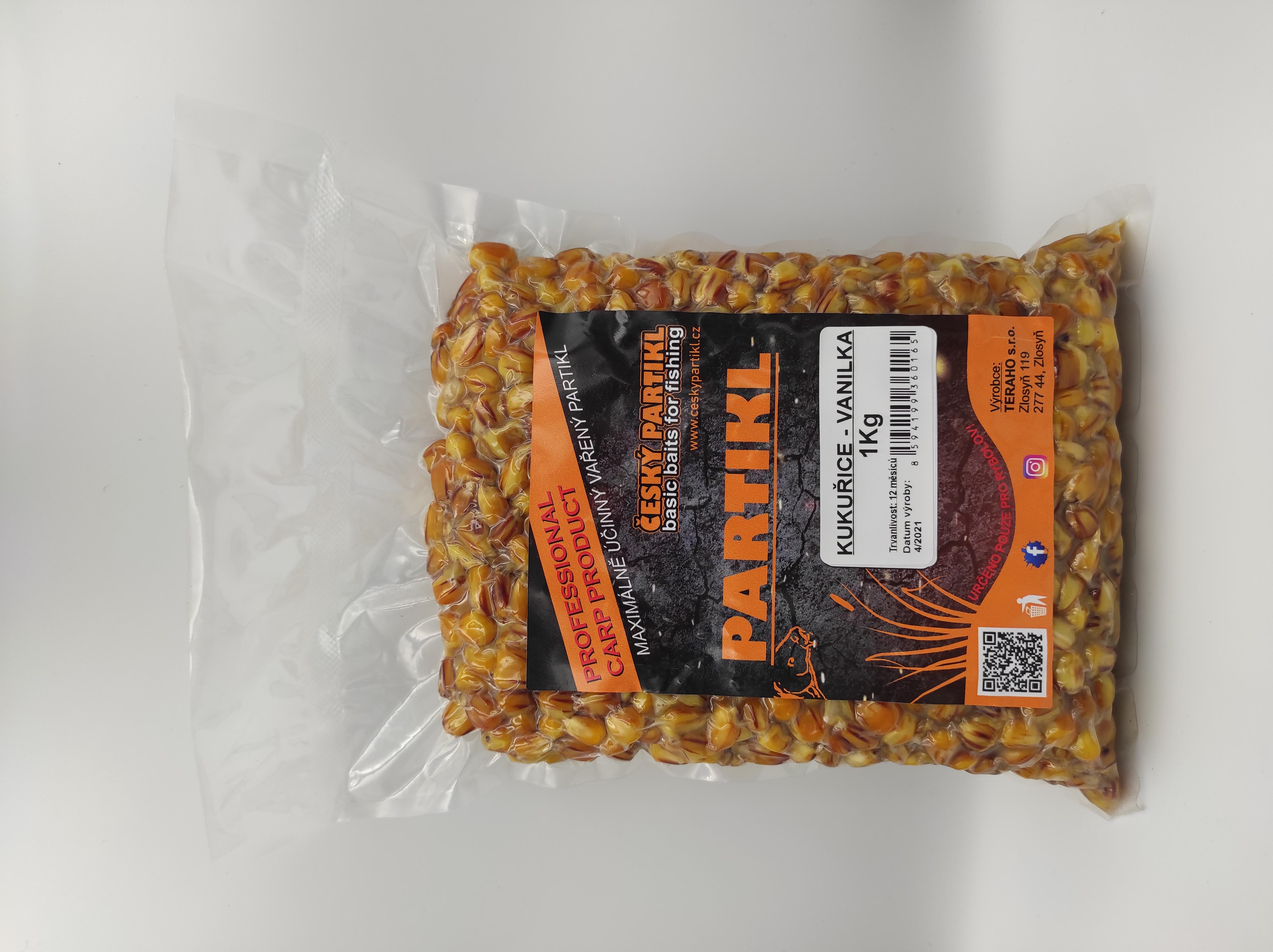Kukuřice vařená - VANILKA