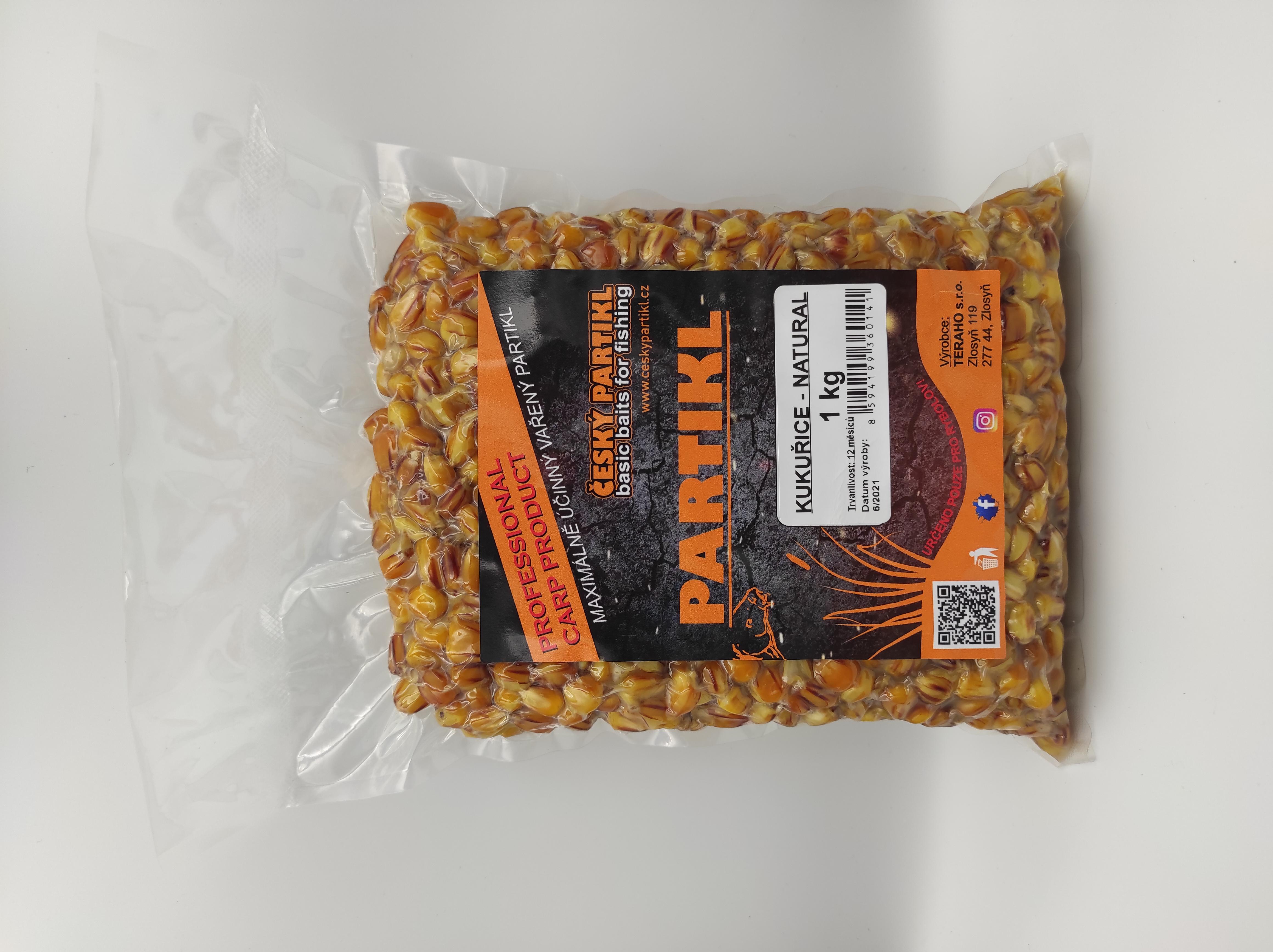 Kukuřice vařená - NATURAL